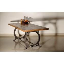 TABLE À MANGER TRESTLE