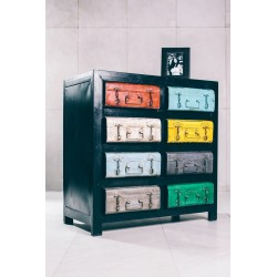 Komoda COLOR SUITCASE
