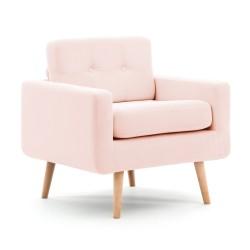 Křeslo Ina Pastel Pink