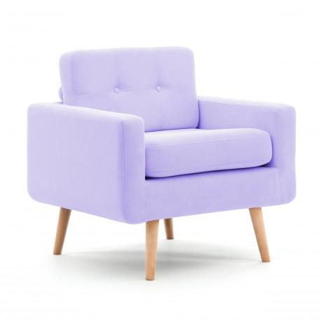 Křeslo Ina Pastel Purple